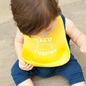 Bella Tunno Taco Tuesday Wonder Bib | The Gifted Type