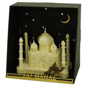 3D Paper Model Taj Mahal | The Gifted Type