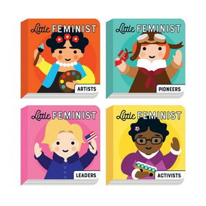 Little Feminist Board Book Set | The Gifted Type