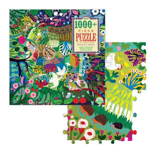 Eeboo Puzzle Bountiful Garden | 1000+ Pieces | The Gifted Type