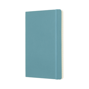 Moleskine Classic Large Softcover Notebook | Reef Blue | The Gifted Type