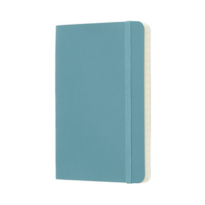Moleskine Classic Pocket Softcover Notebook | Reef Blue | The Gifted Type