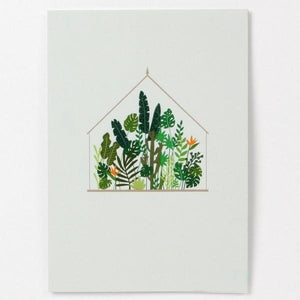 Greenhouse Pop-Up Card | Up With Paper| The Gifted Type