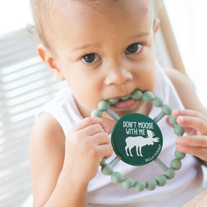 Bella Tunno Don't Moose With Me Teether | The GIfted Type