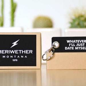 Date Myself Keyring | The Gifted Type