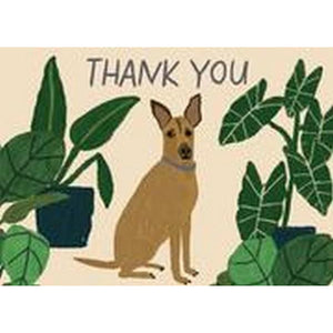 Dog Palais Boxed Notecard