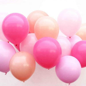 Medley of Pink Balloons Kit