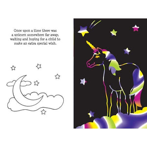 Unicorn Adventure Scratch And Sketch | Activity Book | The Gifted Type