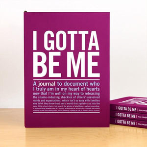 Knock Knock Inner-Truth Journal I Gotta Be Me | The Gifted Type