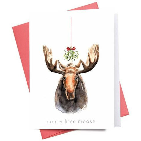 Merry Kiss Moose - WC009