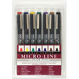 Micro-Line Colour Pen Set