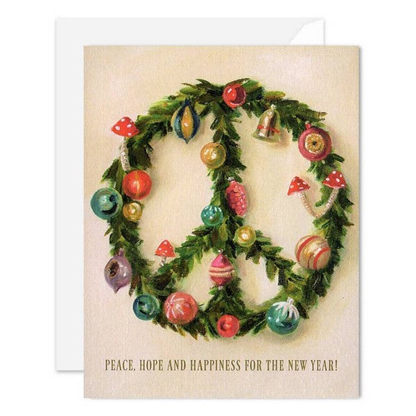 Peace Wreath - Boxed Cards
