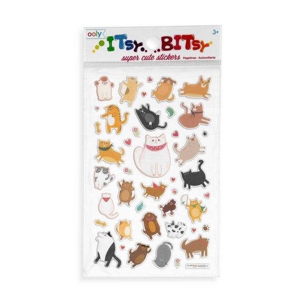 Puffy Pets - Stickers