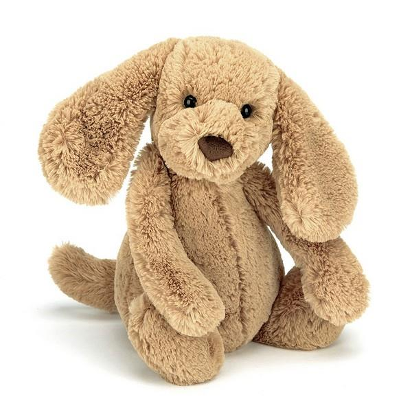 Jellycat Medium Bashful Toffee Puppy Plush | The Gifted Type