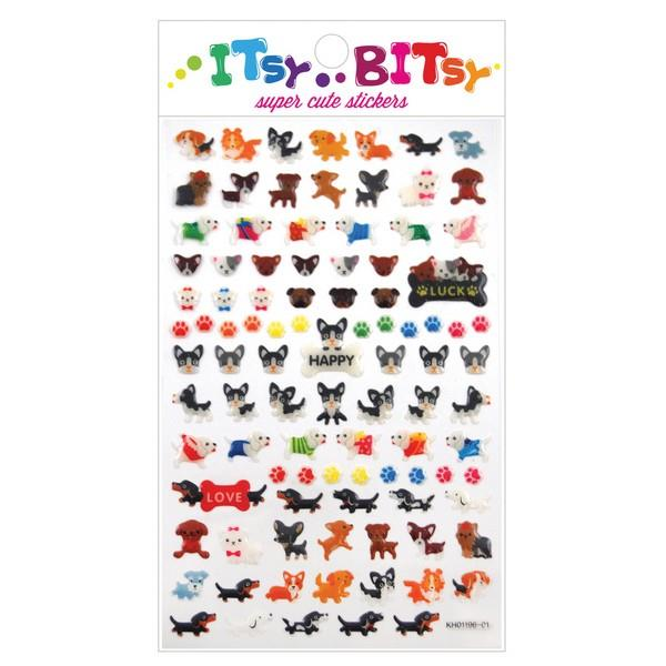 Itsy Bitsy Stickers Pooches | The Gifted Type