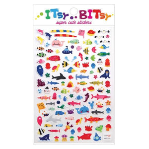 Itsy Bitsy Stickers A Little Sea Life | The Gifted Type