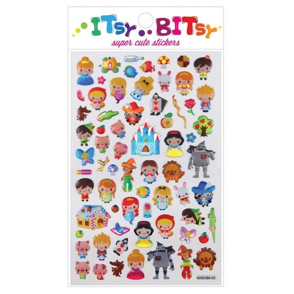 Itsy Bitsy Stickers Fairy Tales | The Gifted Type
