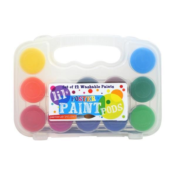 Lil' Poster Paint Pods | The Gifted Type