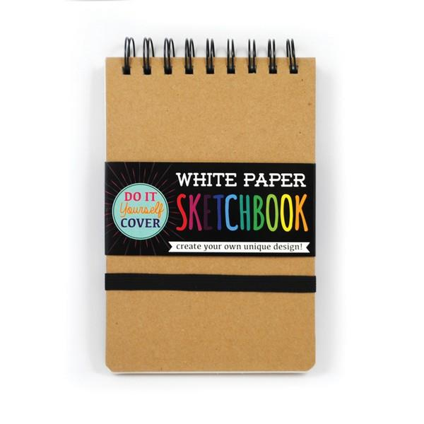 DIY White Paper Sketchbook Small | The Gifted Type
