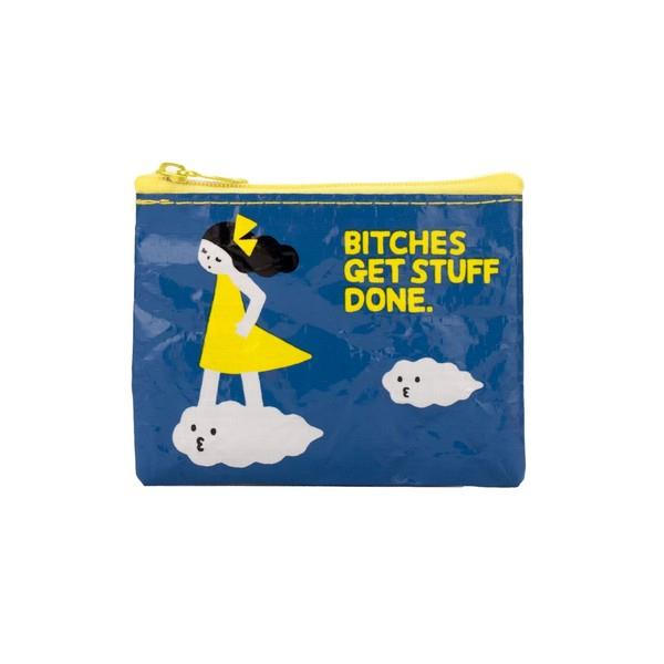 Blue Q Coin Purse Bitches Get Stuff Done | The Gifted Type