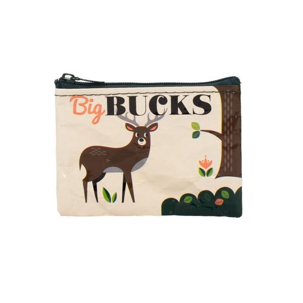 Blue Q Coin Purse Big Bucks | The Gifted Type