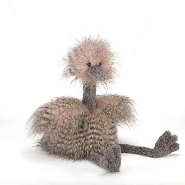 Jellycat Large Mad Pets Odette Ostrich Plush | The Gifted Type