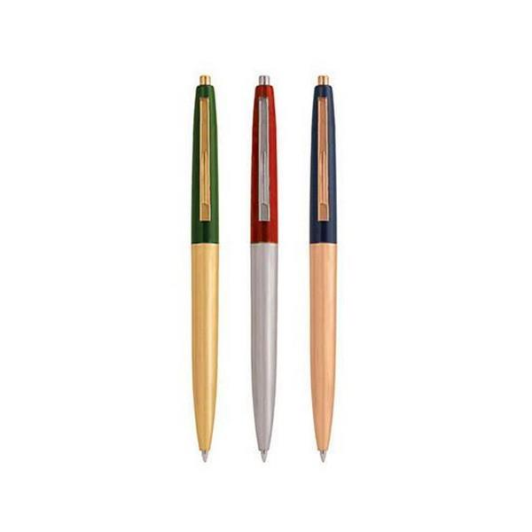 Retro Metallic Colour Pen Set | Set Of 3 | The Gifted Type