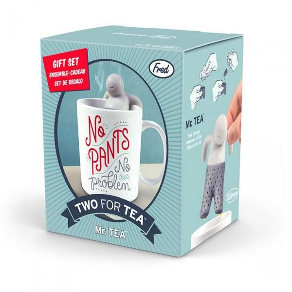 Fred & Friends Two For Tea Mr. Tea | Mug & Infuser | The Gifted Type
