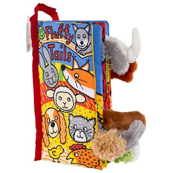 Jellycat Soft Book - Fluffy Tails