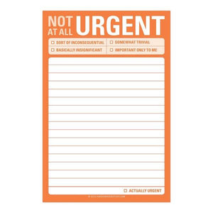 Not At All Urgent - Large Sticky Notes