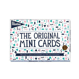 Milestone The Original Mini Cards | Photo Cards | The Gifted Type