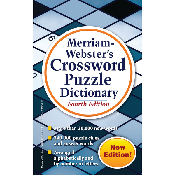 Merriam-Webster's Crossword Puzzle Dictionary | The Gifted Type