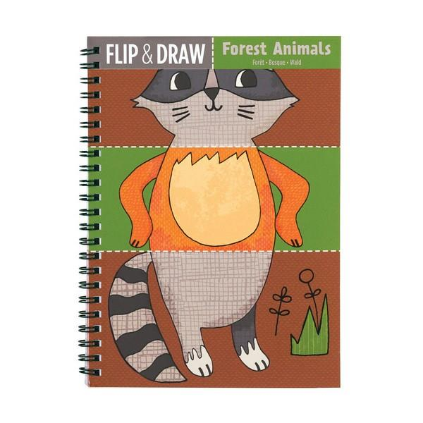 Flip And Draw Forest Animals | Activity Book | The Gifted Type