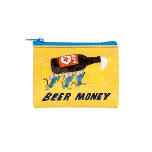 Blue Q Coin Purse Beer Money | The Gifted Type