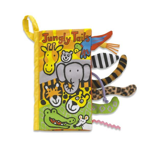 Jellycat Jungly Tails Soft Book | The Gifted Type