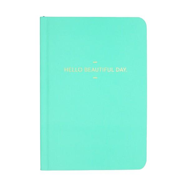 Motto Journal Hello Beautiful Day | Journal | The Gifted Type