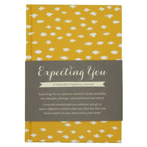 Expecting You: A Keepsake Pregnancy Journal | Memory Keepsakes | The Gifted Type