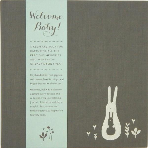 Welcome Baby! Mint | Memory Keepsakes | The Gifted Type