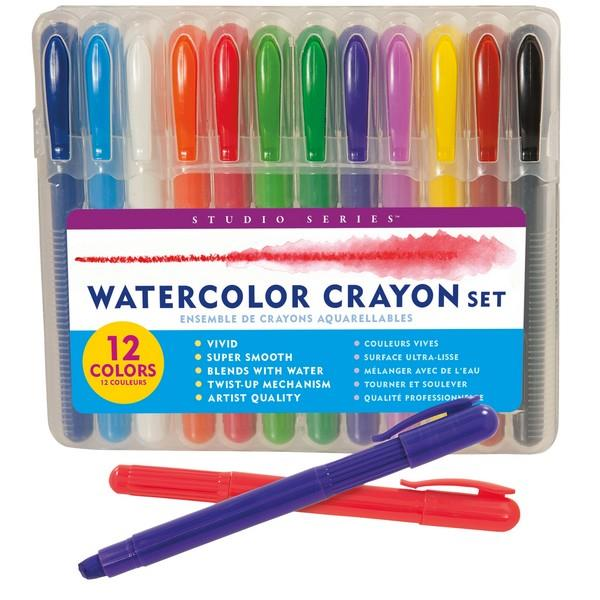 Studio Series Watercolour Crayon Set | The Gifted Type