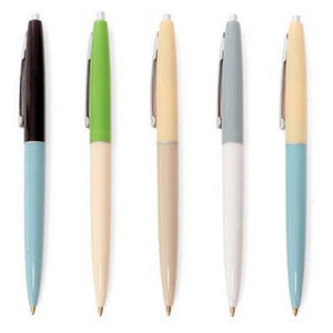 Retro Pen Set | Set Of 5 | The Gifted Type