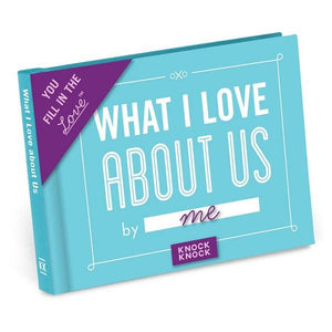 Knock Knock Fill In The Love Journal What I Love About Us | The Gifted Type
