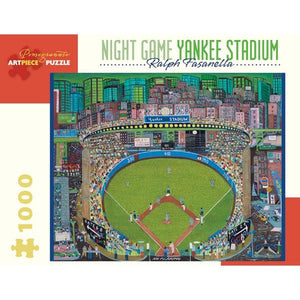 Pomegranate Puzzle Night Game Yankee Stadium | 1000 Pieces | The Gifted Type