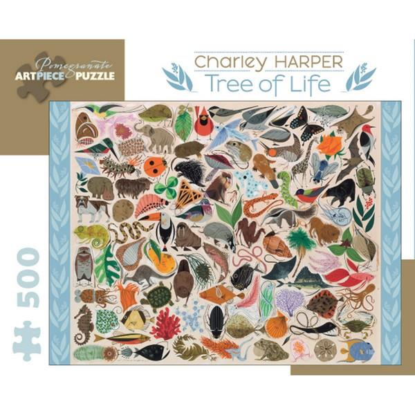 Pomegranate Puzzle Tree Of Life | 500 Pieces | The Gifted Type