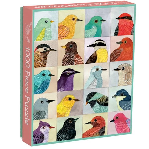 Galison Puzzle Avian Friends | 1000 Pieces | The Gifted Type