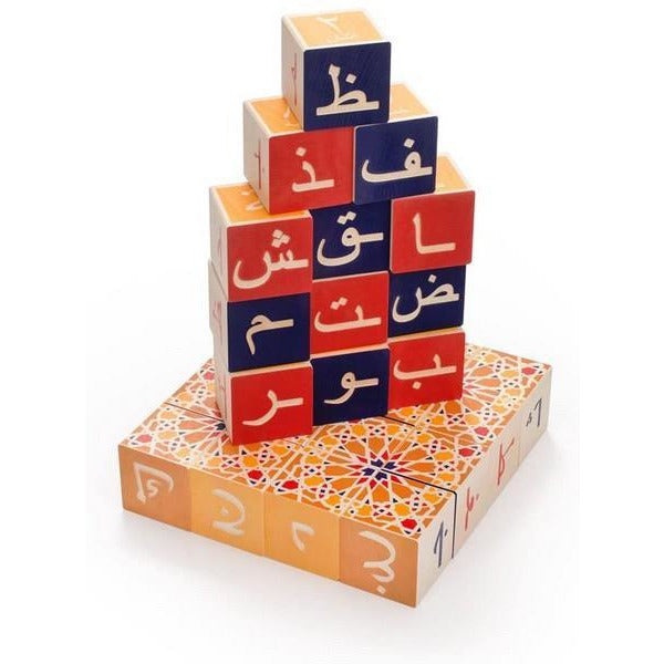Arabic - Uncle Goose Blocks