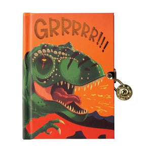 Dinosaur Lock Diary | Front | The Gifted Type