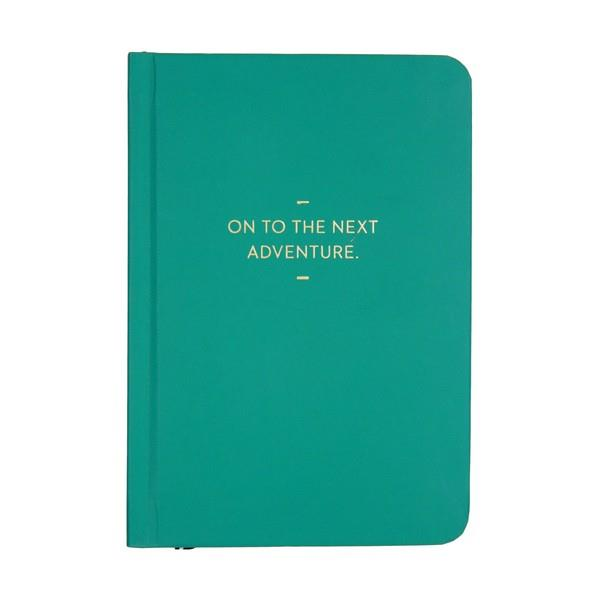 Motto Journal On To The Next Adventure | Journal | The Gifted Type