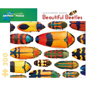 Pomegranate Puzzle Beautiful Beetles | 300 Pieces | The Gifted Type