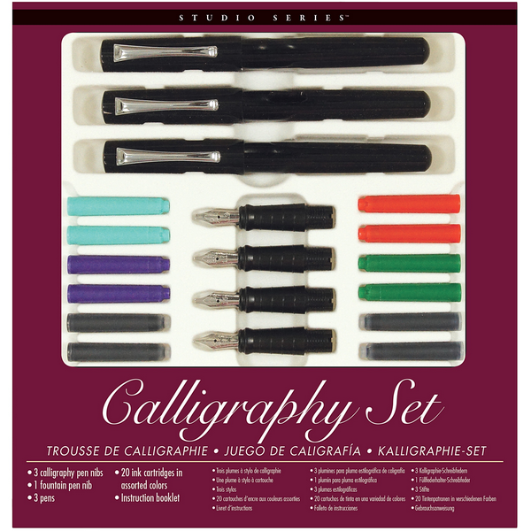 Studio Series Calligraphy Pen Set The Gifted Type Ottawa