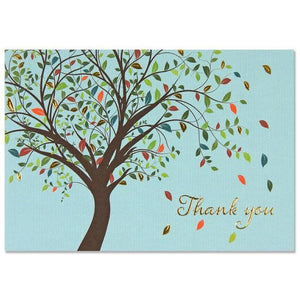 Tree Of Life Thank You Notecards